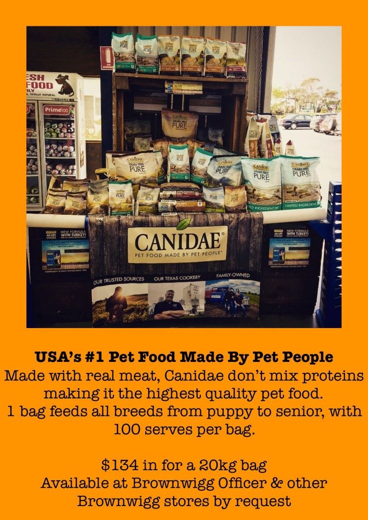 Canidae dog foods ad